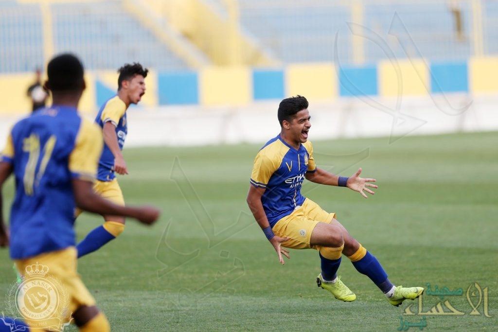 النصر بطلًا لدوري الشباب لكرة القدم بفوزه على الأهلي