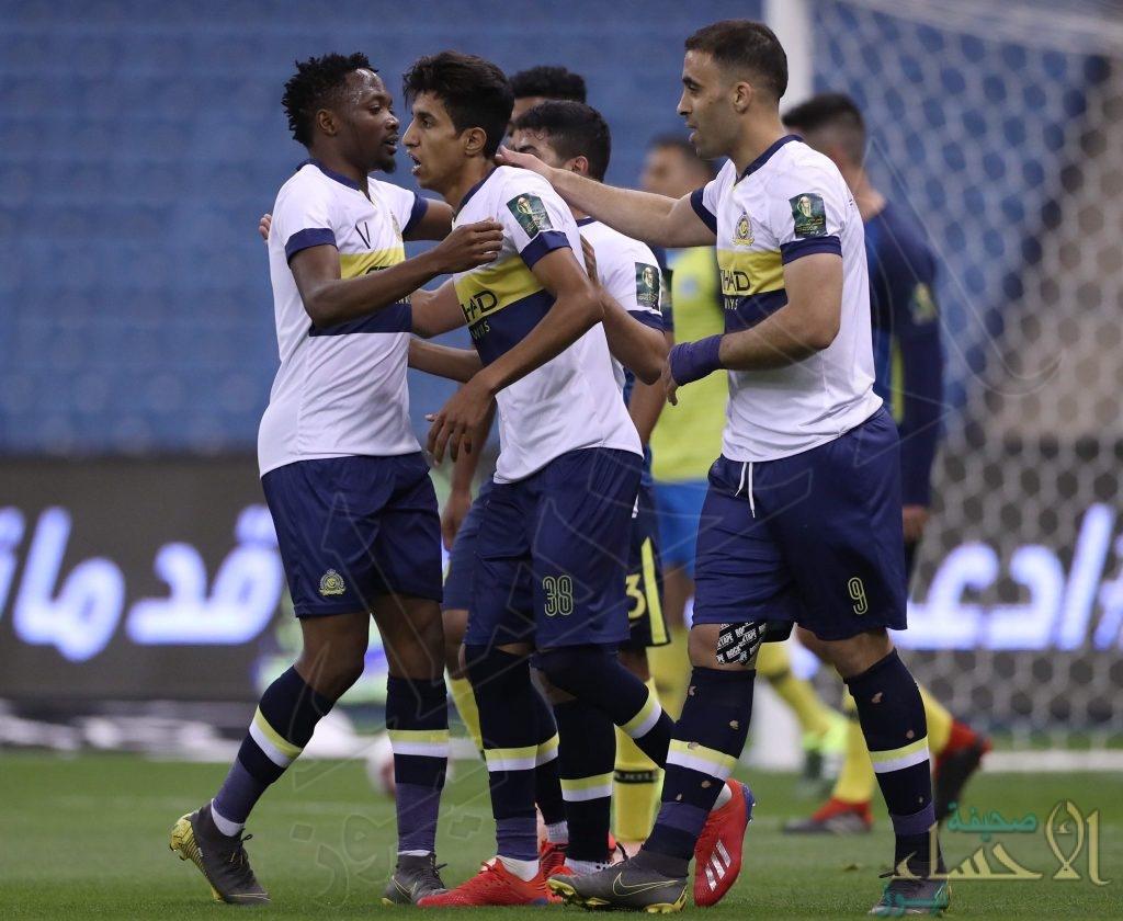 تأهل النصر والاتحاد إلى نصف نهائي كأس خادم الحرمين الشريفين