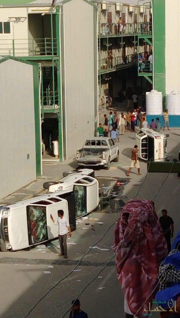 """شاهد.. عمال ملاعب مونديال قطر  ينتفضون ضد """"اللانسانية"""" !!"""