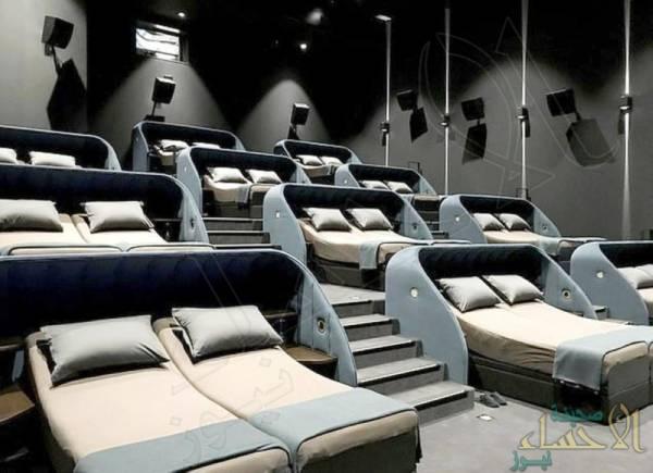 """افتتاح أول صالة لـ""""سينما السرير"""" في العالم !"""