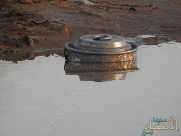 """بالصور .. الكشف عن """"بحيرة ألغام"""" أحدث """"جرائم الحوثي"""" في اليمن !!"""