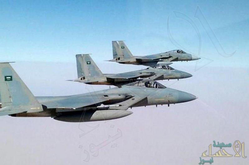 مقاتلات التحالف تشن غارات على تجمعات للحوثيين ومخزن أسلحة في حجة
