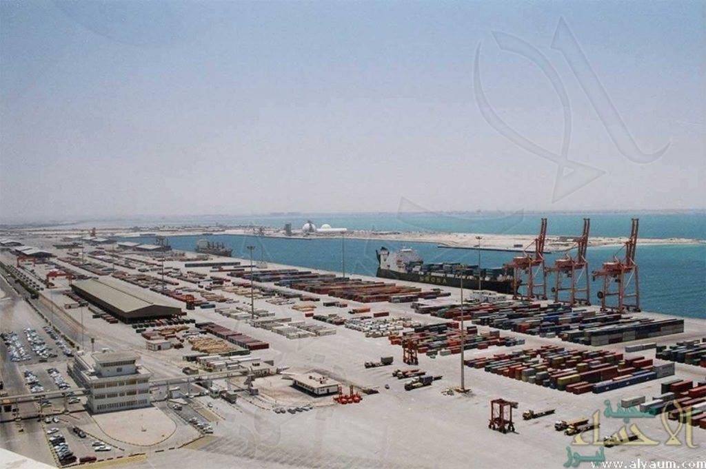 شاهد.. وصول أكبر سفينة حاويات في تاريخ الموانئ السعودية إلى ميناء الدمام