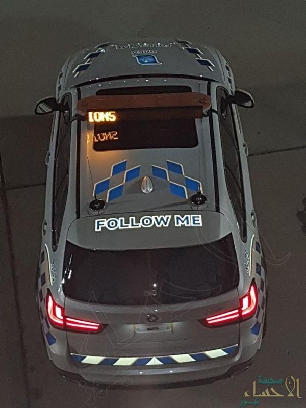 بالصور من قمم مكة .. عربات مخصصة لإرشاد الطائرات !!