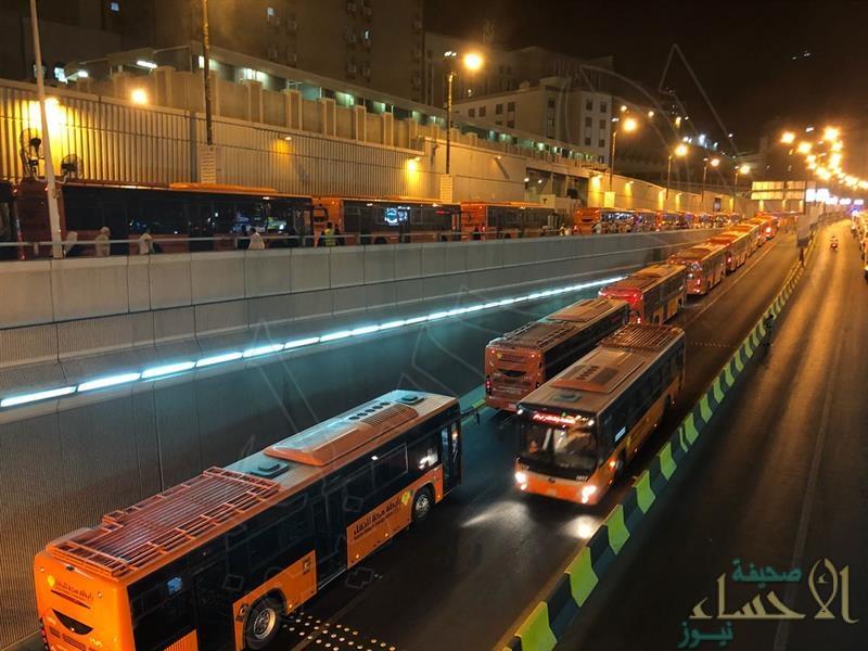 نقل أكثر من 8 ملايين راكب من وإلى المسجد الحرام في أسبوع