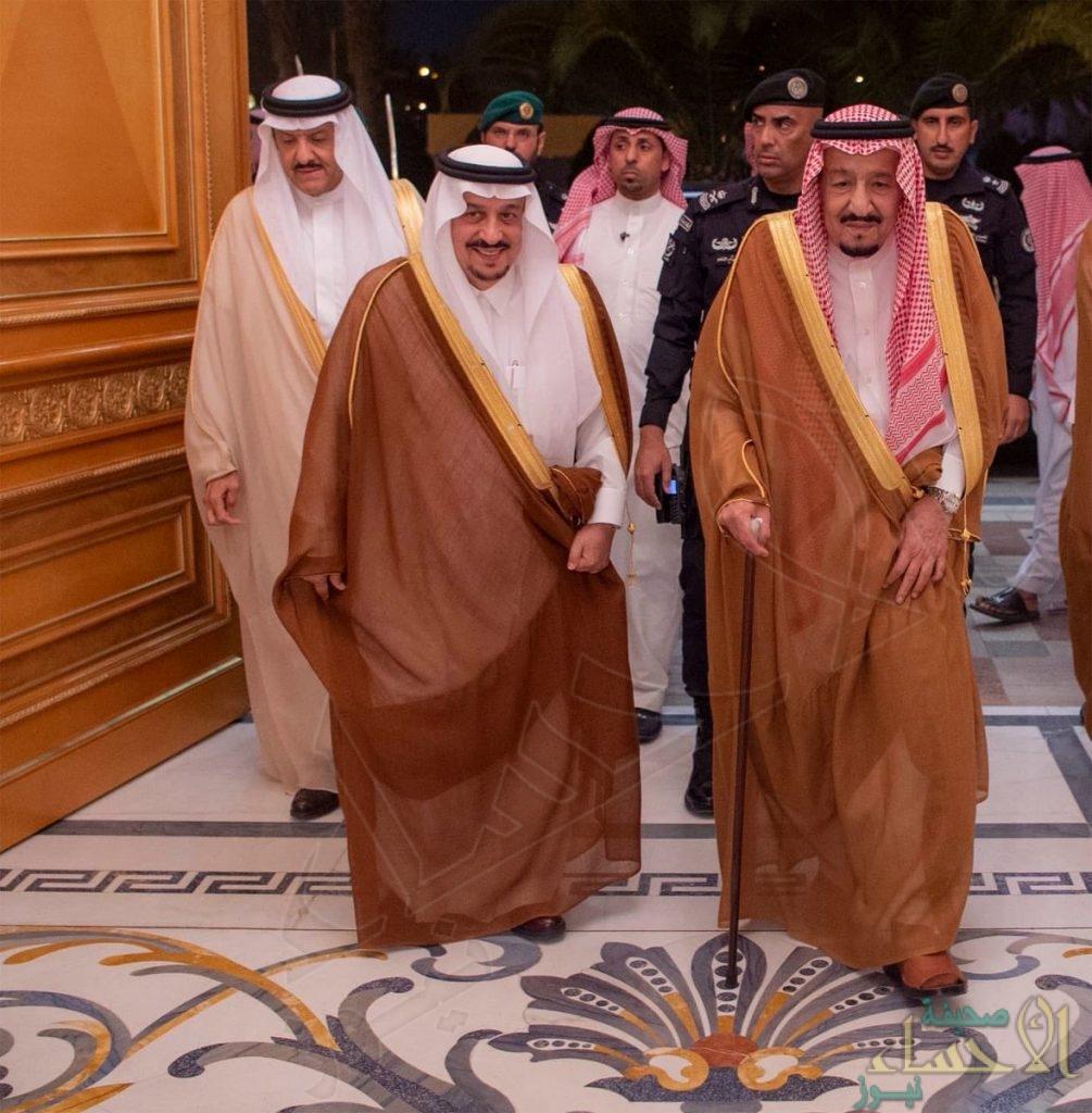 بالصور… خادم الحرمين الشريفين يغادر الرياض متوجهاً إلى جدة