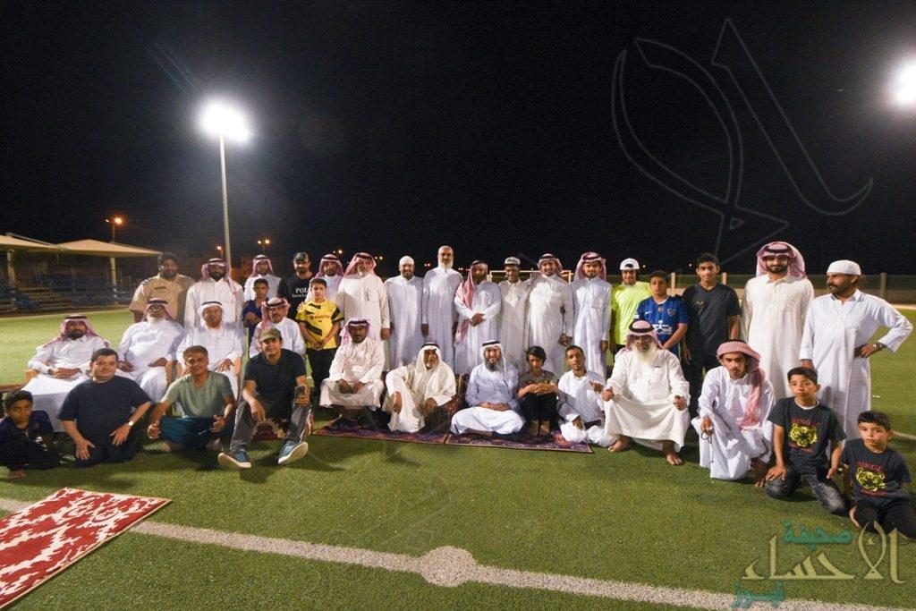 """""""30 أصمًا"""" من فريق أمل يشاركون نادي حي العيون برنامجه المفتوح"""