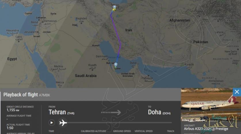 هل زار أمير قطر طهران سراً لإنقاذها؟