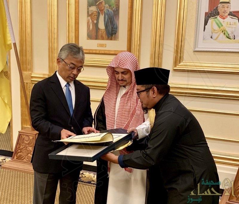 ملك ماليزيا يشيد بالخدمات الجليلة التي تقدمها المملكة لخدمة الإسلام والمسلمين
