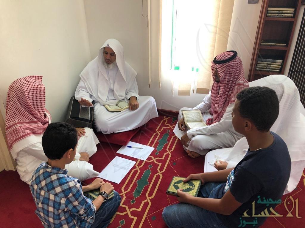 """بالصور… انطلاق دورة """"إبراهيم العفالق"""" القرآنية في نسختها الـ 12"""