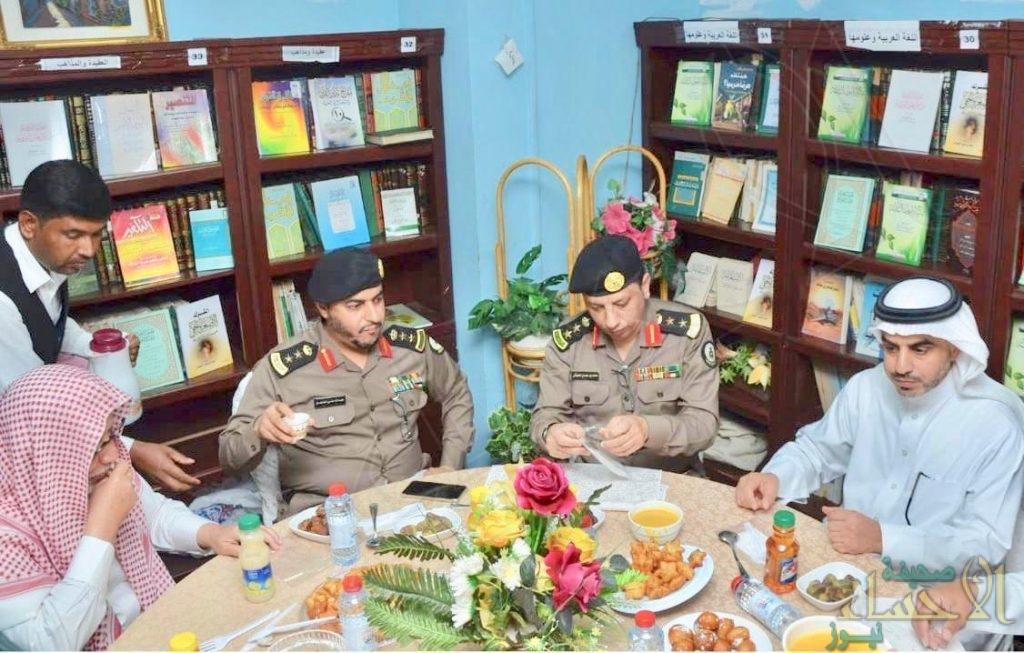 إفطار جماعي للنزلاء ومنسوبي السجون بالمنطقة الشرقية