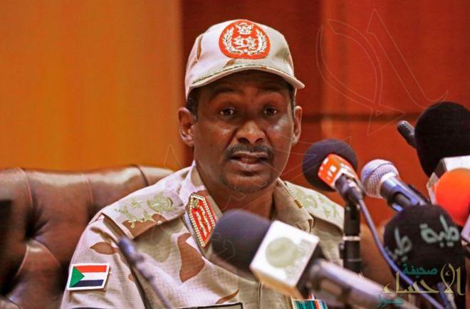 حمدتي: التغيير في السودان تم بسلاسة.. ولسنا طامعين في الحكم