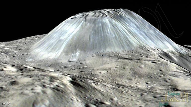 """""""ناسا"""" تكشف صورة لجبل """"لم تر البشرية مثله"""""""