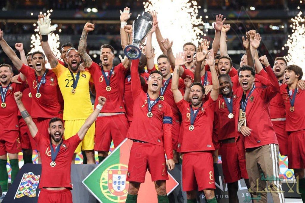 """""""البرتغال"""" تتوج بلقب النسخة الأولى لمسابقة """"دوري الأمم الأوروبية"""""""