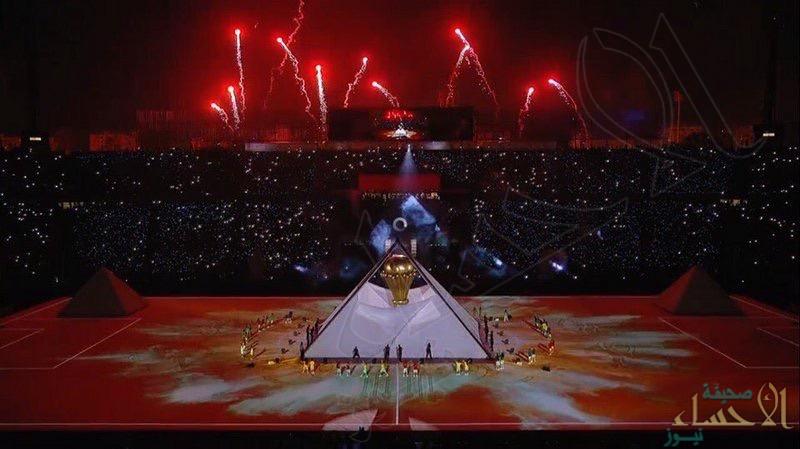 """بالصور .. في نسختها الـ 32 """"الرئيس المصري"""" يفتتح بطولة كأس الأمم الأفريقية"""