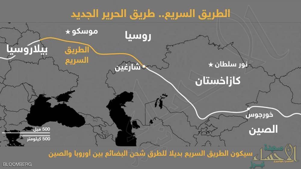 من آسيا إلى أوروبا .. روسيا وافقت على طريق يغير خريطة العالم !!
