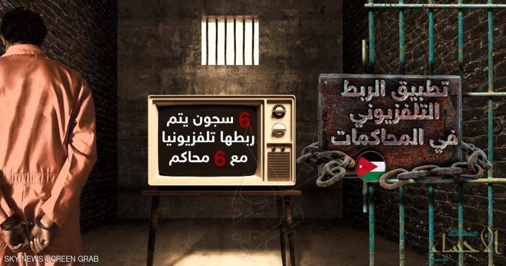 الأردن يشهد أول محاكمة عن بعد !!