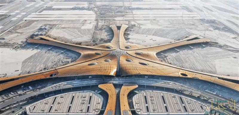 هذه تفاصيله .. الصين تقيم المطار الأكبر في العالم بحجم 140 ملعب كرة قدم !!