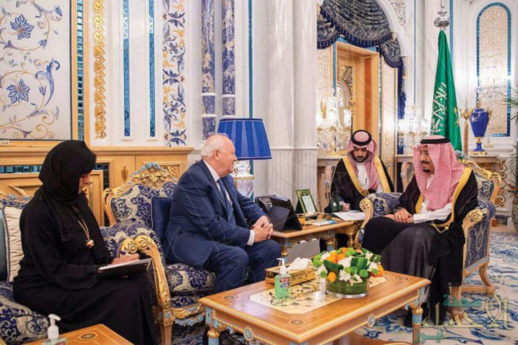 الملك يستقبل المفوض السامي الجديد لمنتدى الأمم المتحدة لتحالف الحضارات