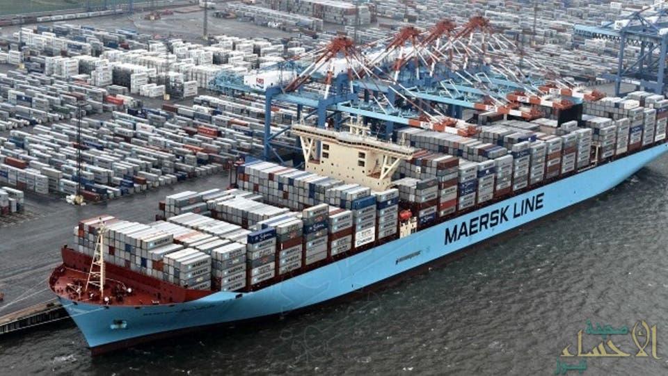 """مخاطر """"جيوسياسية"""" تدفع أكبر شركة شحن عالمية لرفع أسعار الحاويات المتجهة للخليج"""