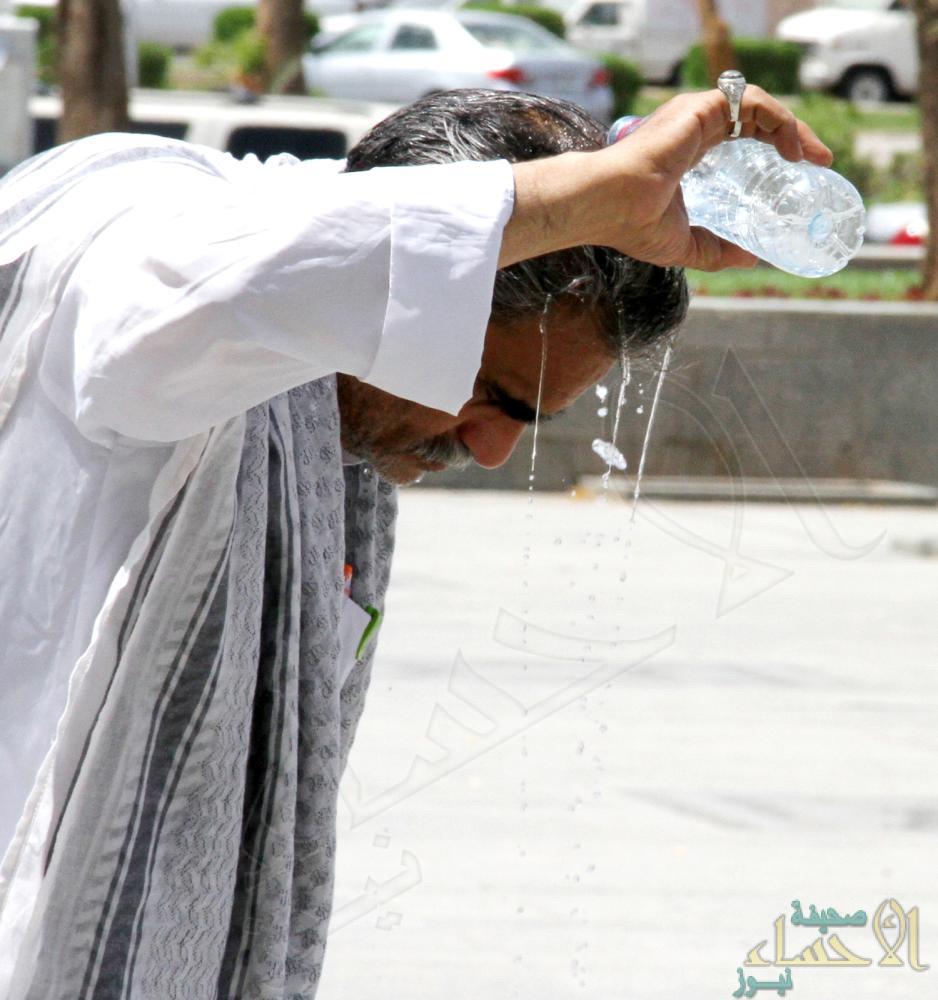 """""""الأرصاد"""": هذه أعلى درجات حرارة تم تسجيلها في المملكة اليوم !!"""
