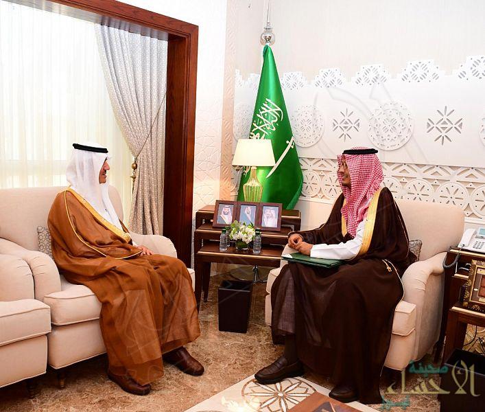 سمو نائب أمير الشرقية يلتقي رئيس التجمع الصحي بالأحساء