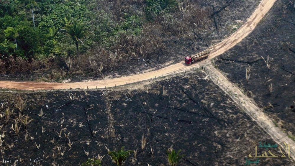 البرازيل ترحب بالمساعدات لإخماد حرائق الأمازون لكن بشرط !