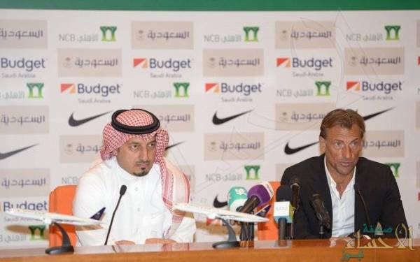 """مدرب """"الأخضر"""": الوصول إلى مونديال 2022 هدف رئيسي .. وسأكتشف أبرز اللاعبين"""