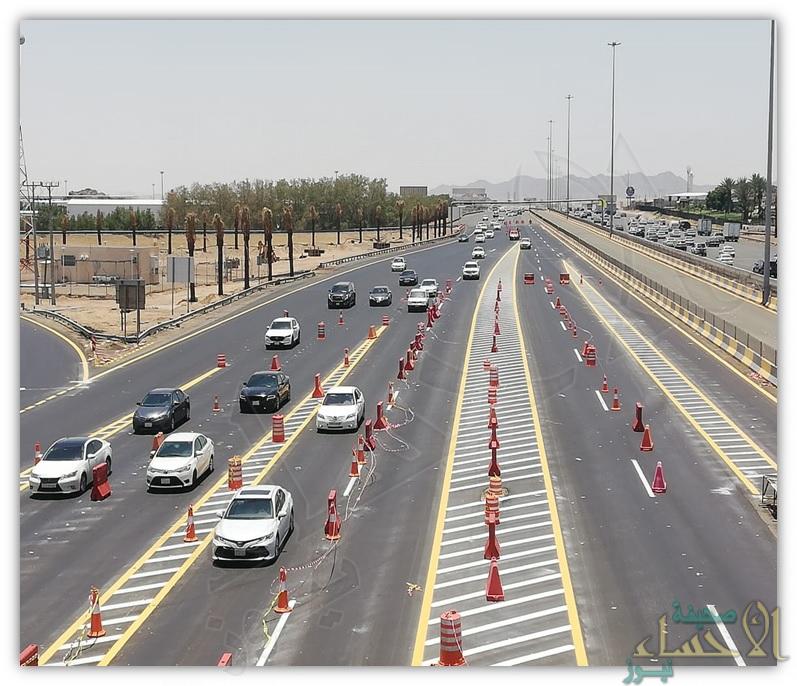 النقل: عبور أكثر من 2.8 مليون مركبة خلال موسم الحج