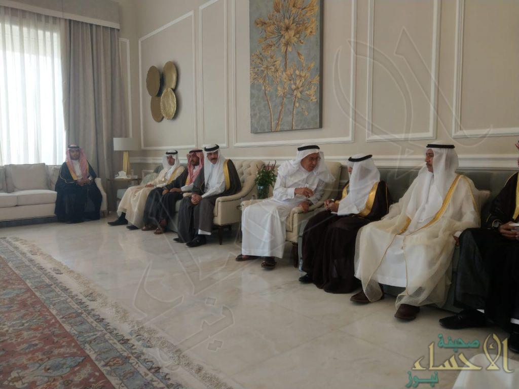 """مجلس """"أسرة العفالق"""" يستقبل المهنئين بعيد الأضحى المبارك"""