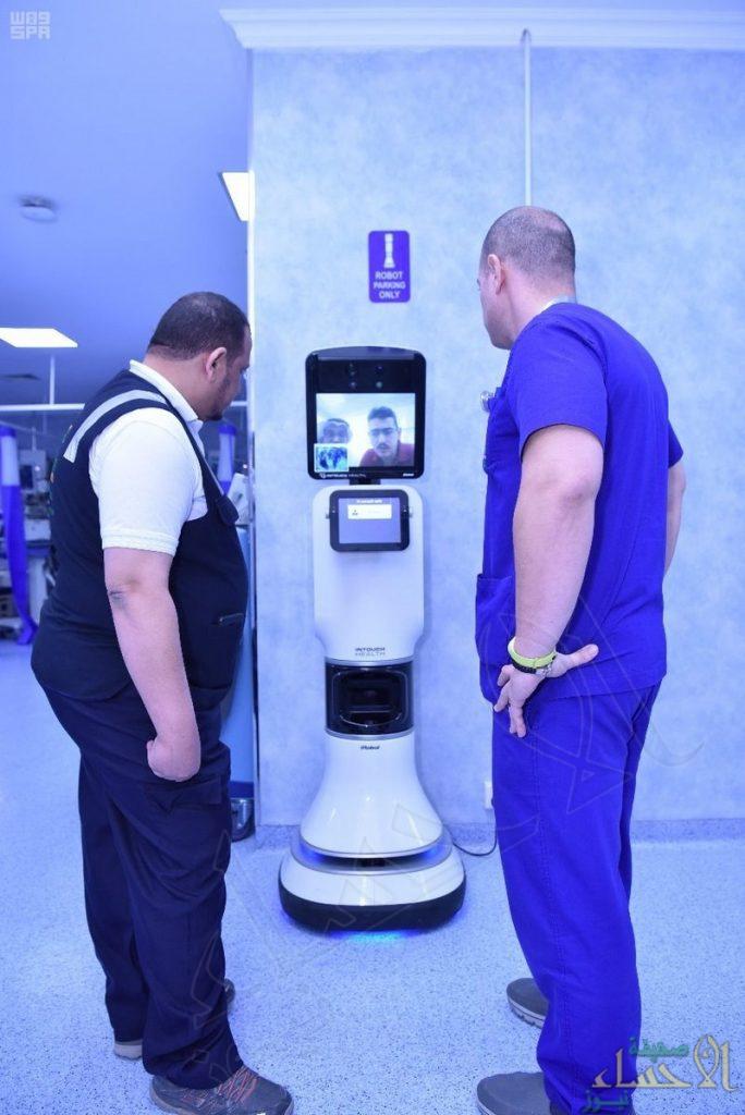 """لأول مرة .. """"روبوت"""" للاستشارات الطبية في مستشفيات مشعر منى"""