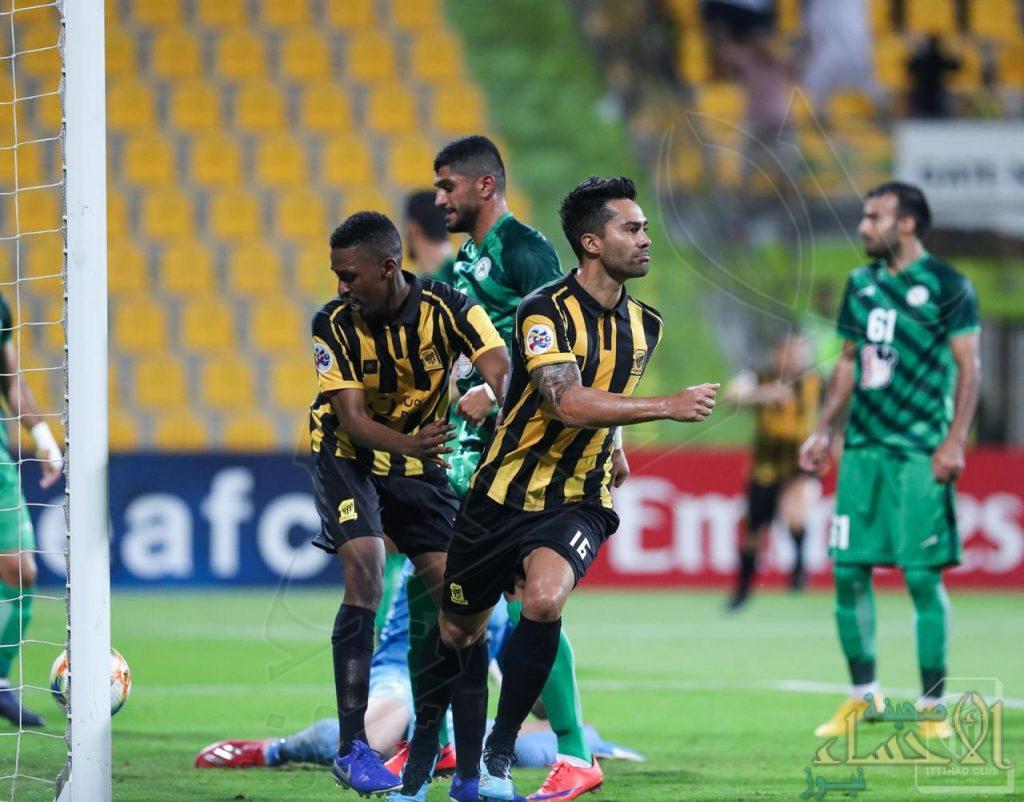 الاتحاد يفوز على ذوب آهن في ذهاب دور الـ 16 من دوري أبطال آسيا