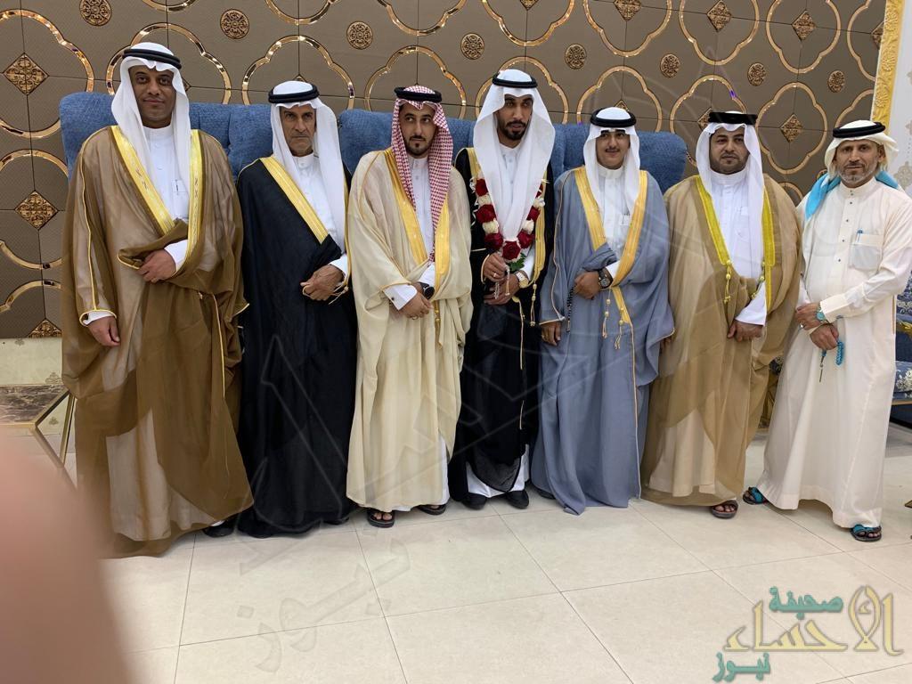 """""""المرزوق و""""الخلف"""" يحتفلان بزفاف """"عبدالله"""""""