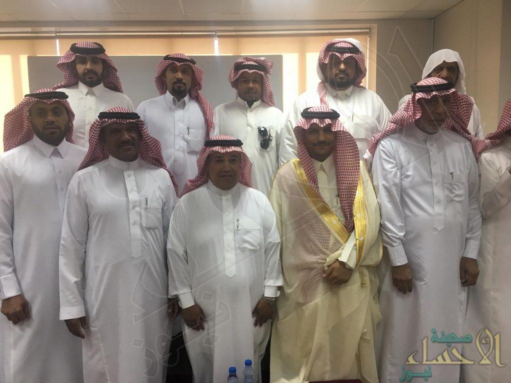إدارة المساجد والدعوة والارشاد بالأحساء تعايد موظفيها بعيد الأضحى المبارك