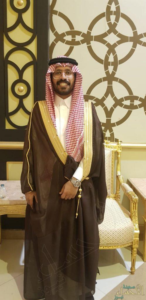 """""""العرجي"""" تحتفي بزفاف ابنها """"عبدالله"""""""