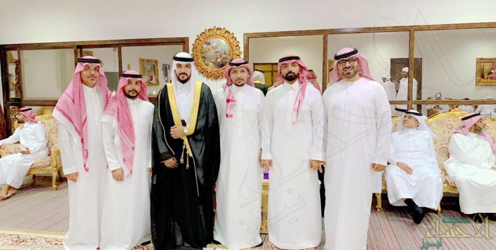 """""""المجحد"""" و""""البلوشي"""" يحتفلان بزفاف الشاب """"عبدالرؤوف"""""""