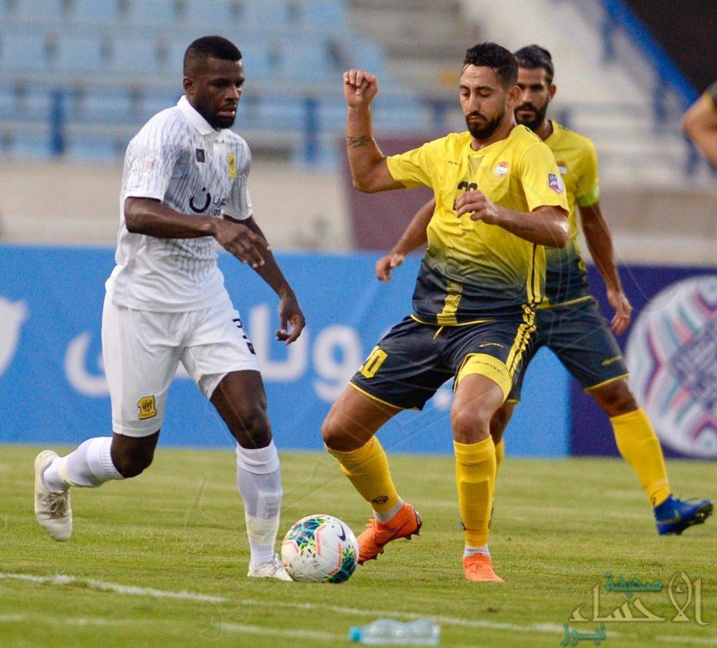 الاتحاد يتعادل سلبيا مع العهد اللبناني ويتأهل إلى دور الـ 16