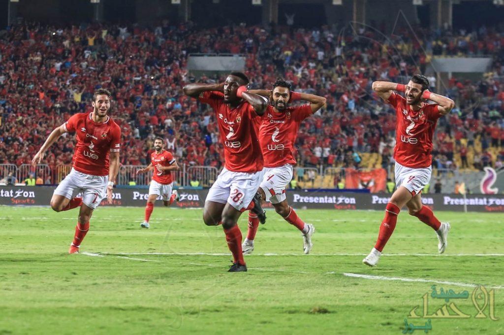 """""""الأهلي"""" بطلا للسوبر المصري بثلاثية في """"الزمالك"""""""