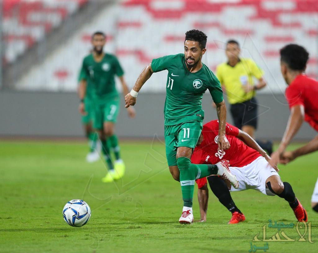 """بالصور .. في مستهل تصفيات كأس العالم """"الأخضر"""" يتعادل مع اليمن"""