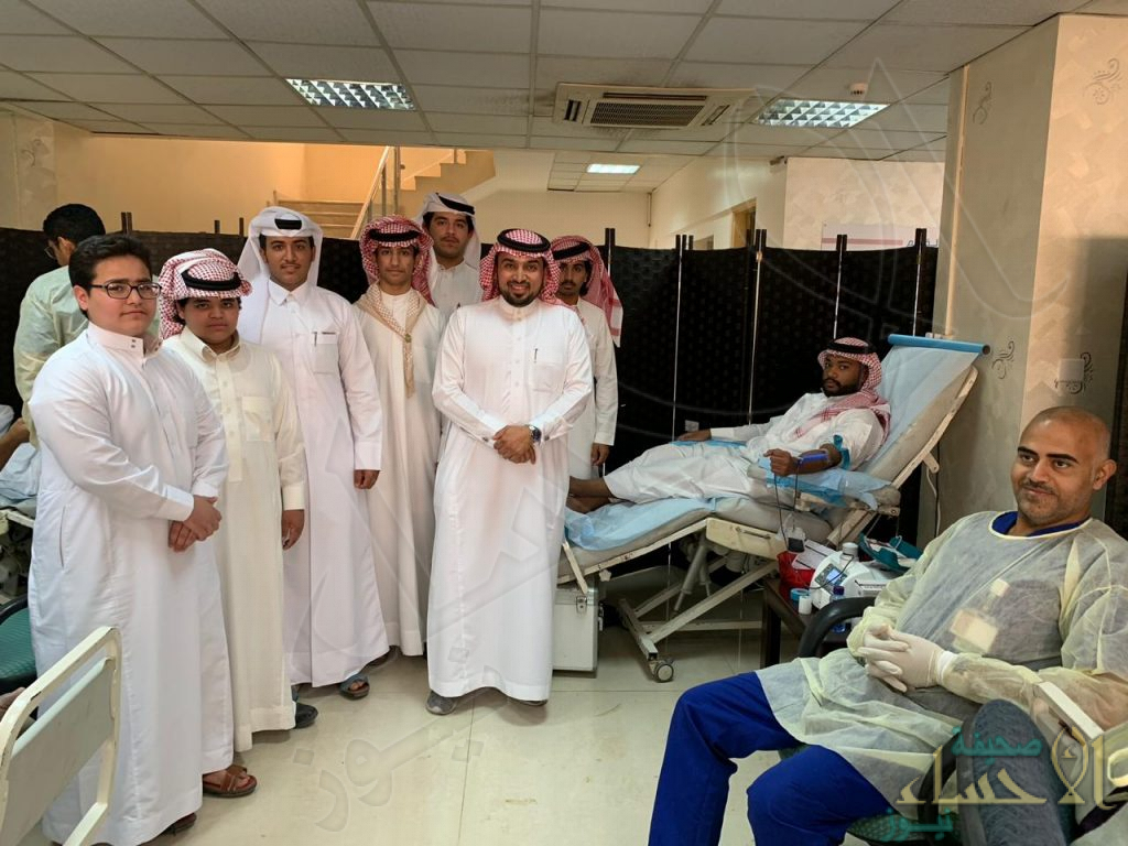 """تحت شعار """"دمك حياة لغيرك"""" .. ثانوية الحرمين تشارك في حملة التبرع بالدم"""