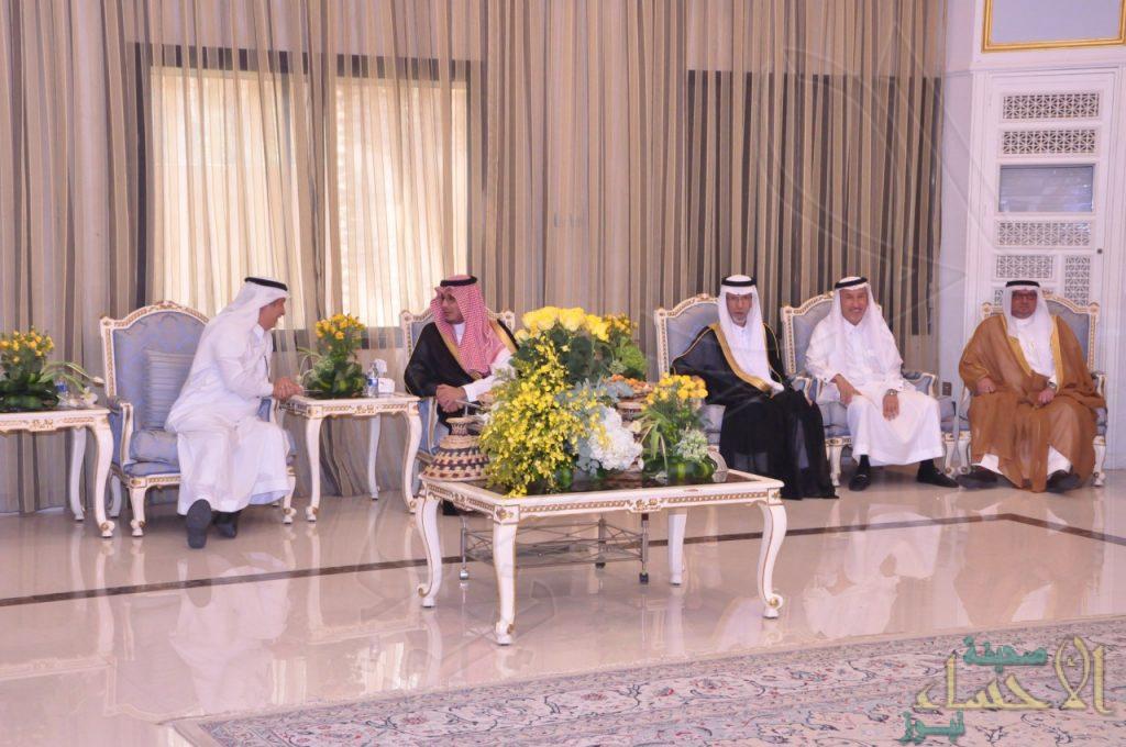"""نائب أمير المنطقة الشرقية يزور مجلس """"أسرة البراك"""""""