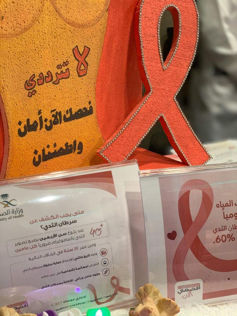 """أهمية الكشف المبكر عن سرطان الثدي لمستفيدات """"بر الأحساء"""""""
