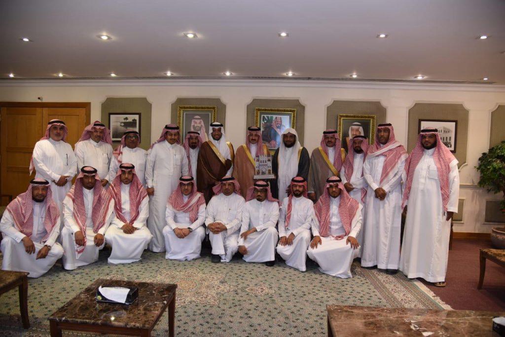 سمو محافظ الأحساء يستقبل رئيس وأعضاء المجلس البلدي