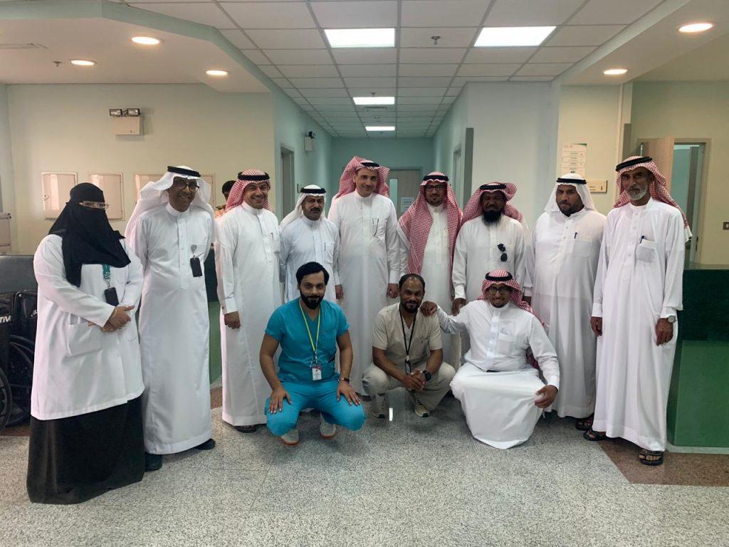 تفعيل المشاركة المجتمعية مع قيادات المجتمع والعمد التابعة لمستشفى العمران