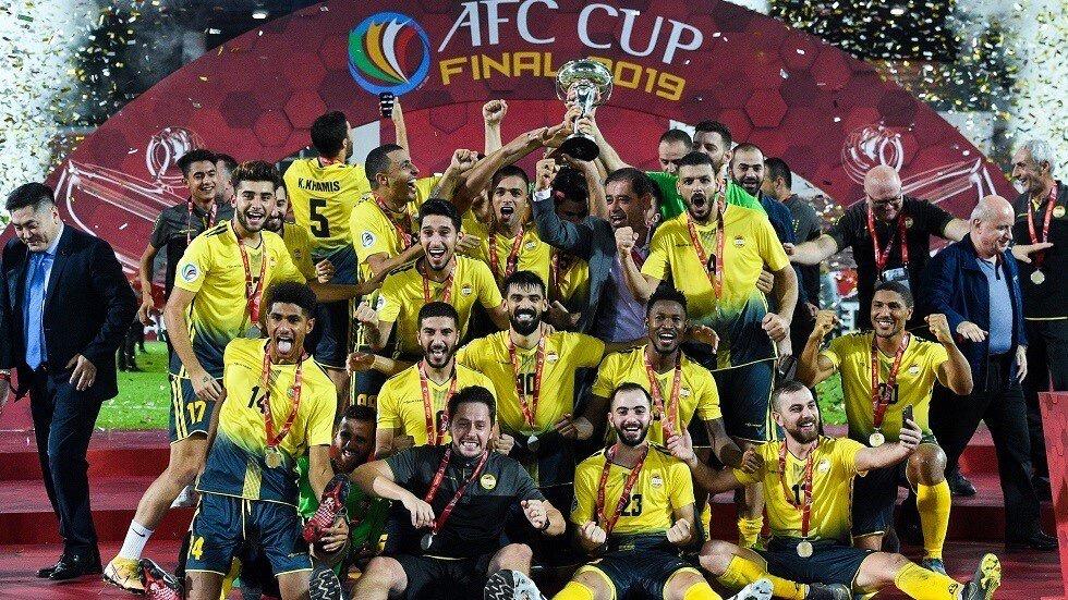 فريق العهد اللبناني يتوج بطلا لكأس الاتحاد الآسيوي لكرة القدم