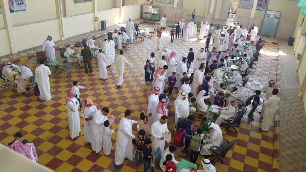 """لقاء يجمع أولياء أمور طلاب """"أبو بكر الرازي"""" الابتدائية"""