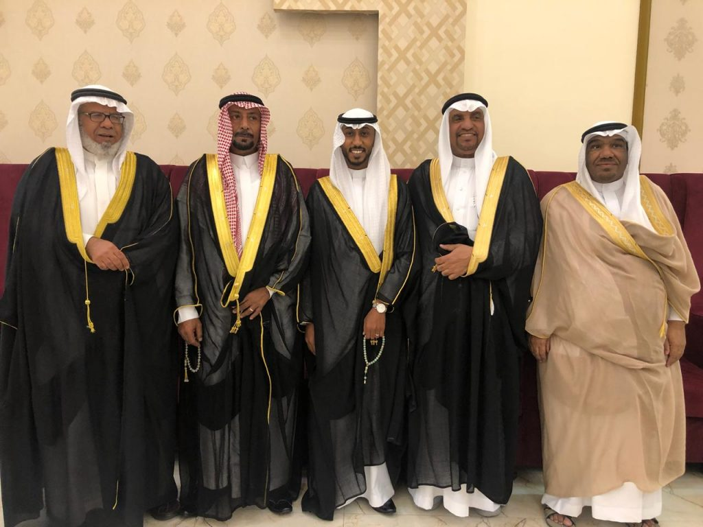 """أسرة """"الراجح"""" تحتفل بزواج ابنها """"عبدالله"""""""