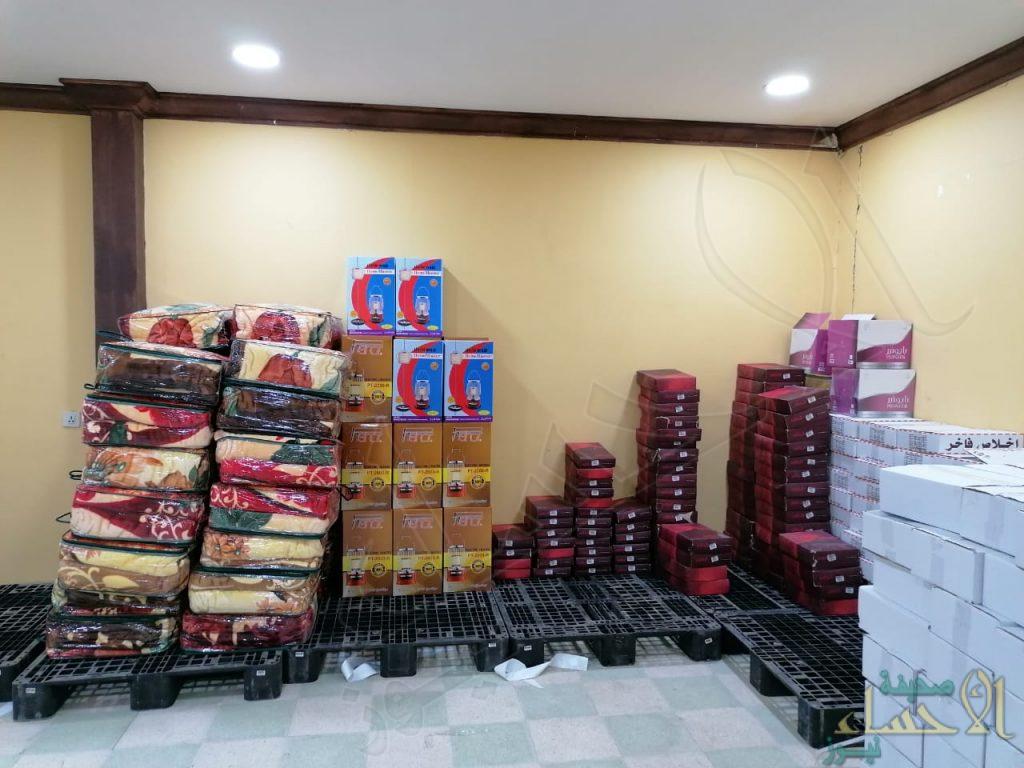 """بدعم """"الراجحي"""" الخيرية جمعية المراح توزع كسوة الشتاء"""