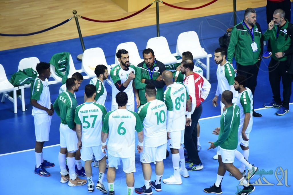 أخضر اليد يخسر من اليابان والتعويض أمام الإمارات