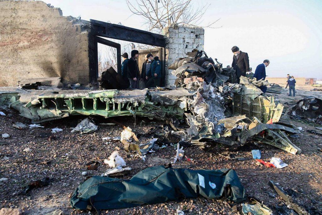 تحطم طائرة ركاب أوكرانية في طهران ووفاة جميع ركابها